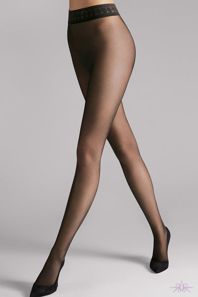 Wolford Fatal 15 Seamless Tights - Mayfair Stockings