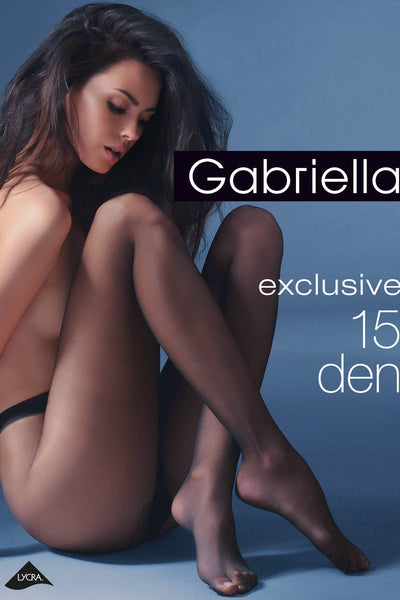 Gabriella 15 Denier Tight - Mayfair Stockings