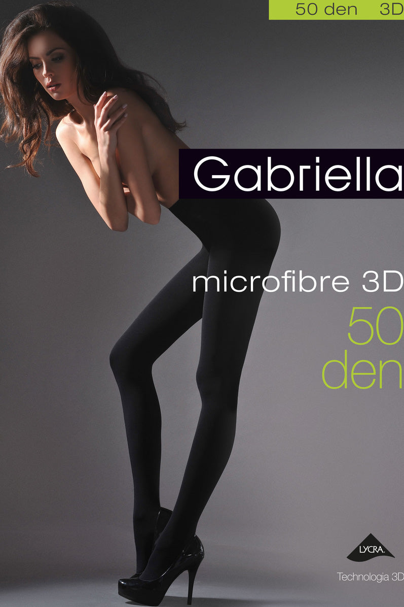Gabriella Microfibre 50D Opaque Tight