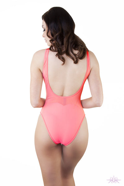Peek & Beau Heart Swimsuit - Mayfair Stockings