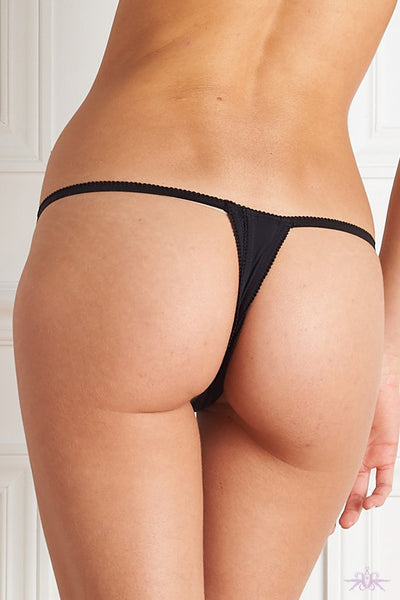 Maison Close Le Petit Secret Open Thong - Mayfair Stockings