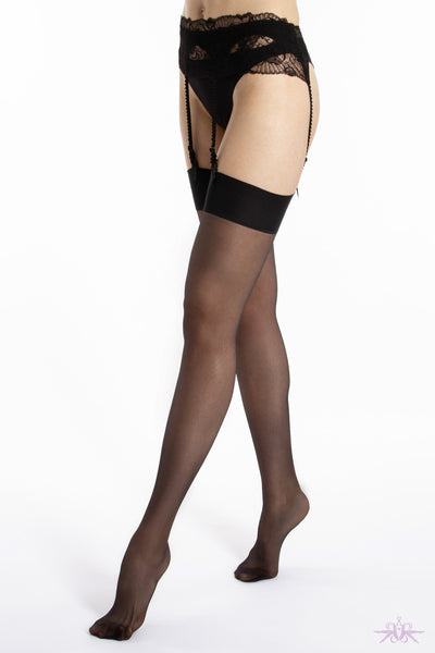 Le Bourget Satine 15 Denier Stockings - Mayfair Stockings