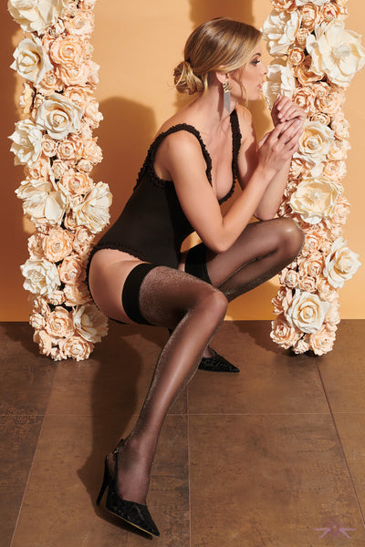 Trasparenze Vlinder Hold Ups - Mayfair Stockings