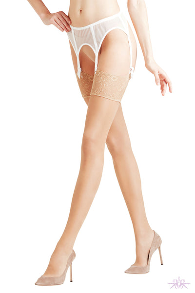 Falke New Seidenglatt 15 Stockings - Mayfair Stockings