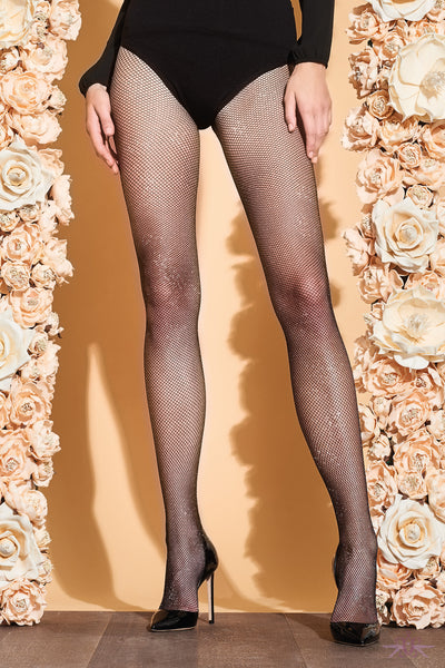 Trasparenze Gardenia Fishnet Sparkle Tights