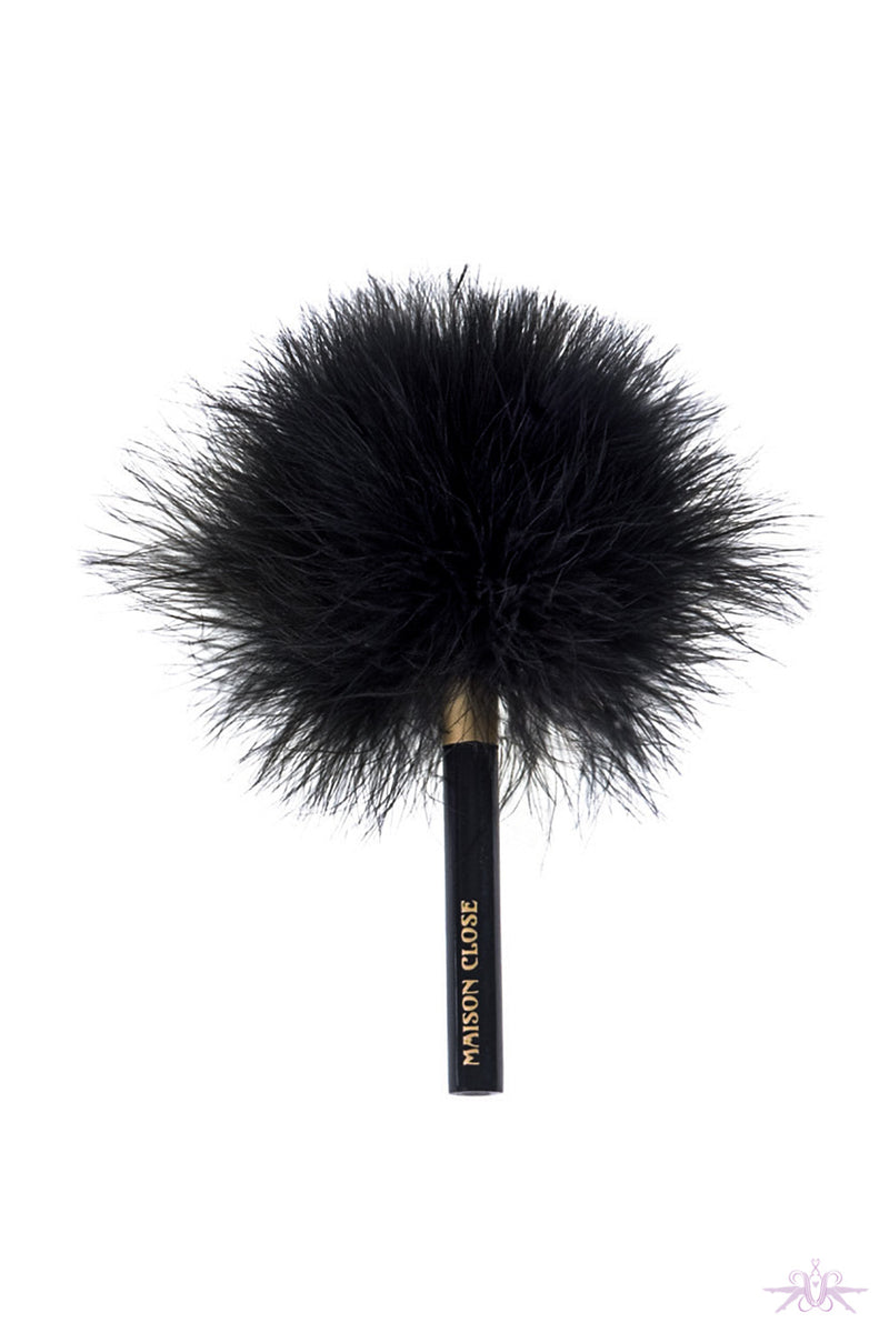Maison Close 'Les Burlesques' Printed Feather Tickler