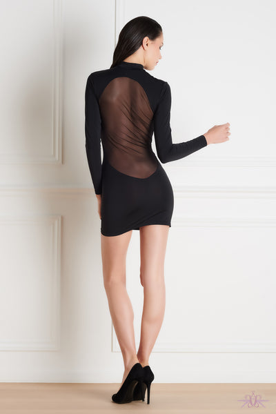 Maison Close Pure Tentation Long Sleeved Dress - Mayfair Stockings