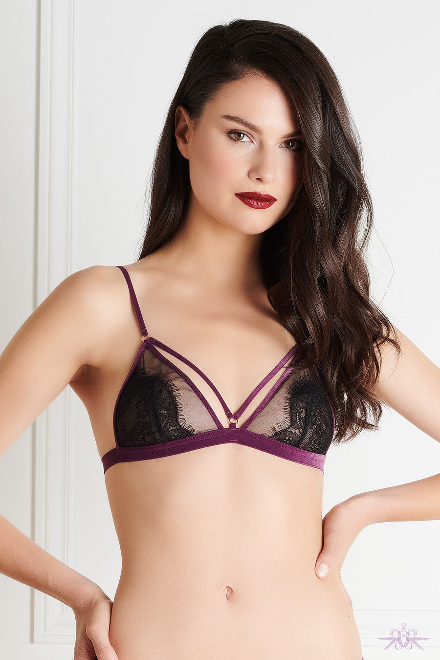 Maison Close Coup de Foudre Triangle Bra - Mayfair Stockings