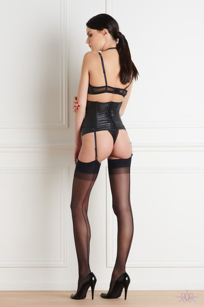 Maison Close Chambre Noire Waist Cincher - Mayfair Stockings