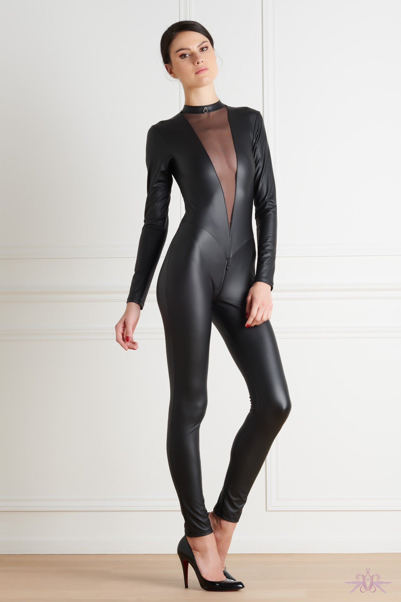 Maison Close Chambre Noire Catsuit - Mayfair Stockings