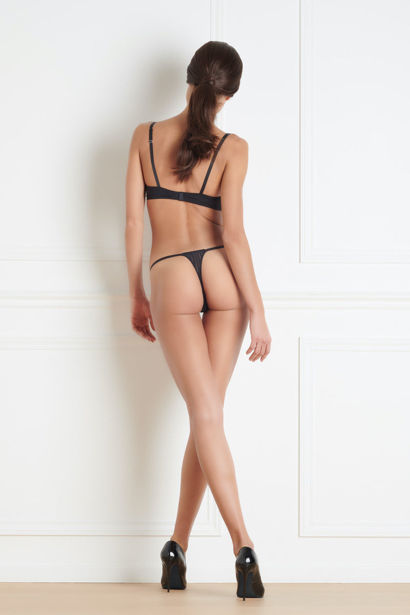 Maison Close Bande à Part Thong - Mayfair Stockings