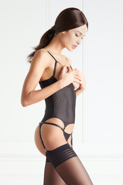 Maison Close Bande à Part Naked Breast Bodice - Mayfair Stockings