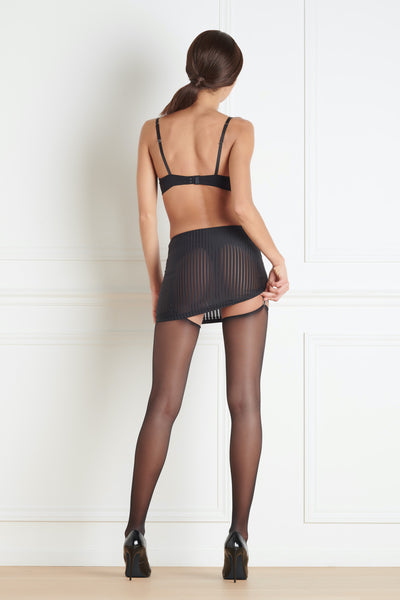 Maison Close Bande à Part Skirt with Suspenders - Mayfair Stockings