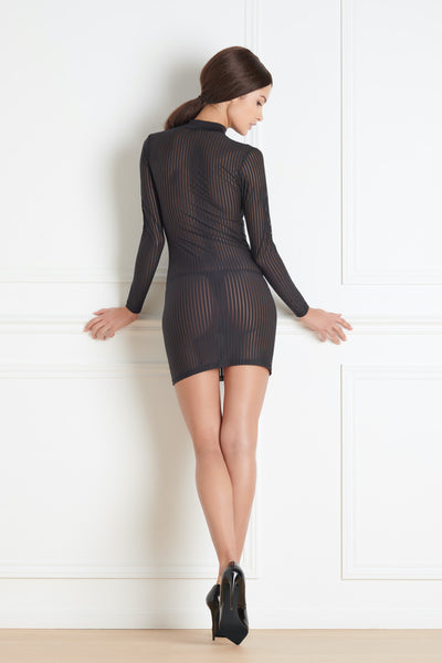 Maison Close Bande à Part Long Sleeved Dress - Mayfair Stockings