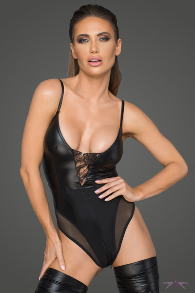 Noir Handmade Wetlook Bodysuit
