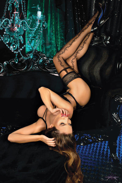 Ballerina Hannah Hold Up - Mayfair Stockings