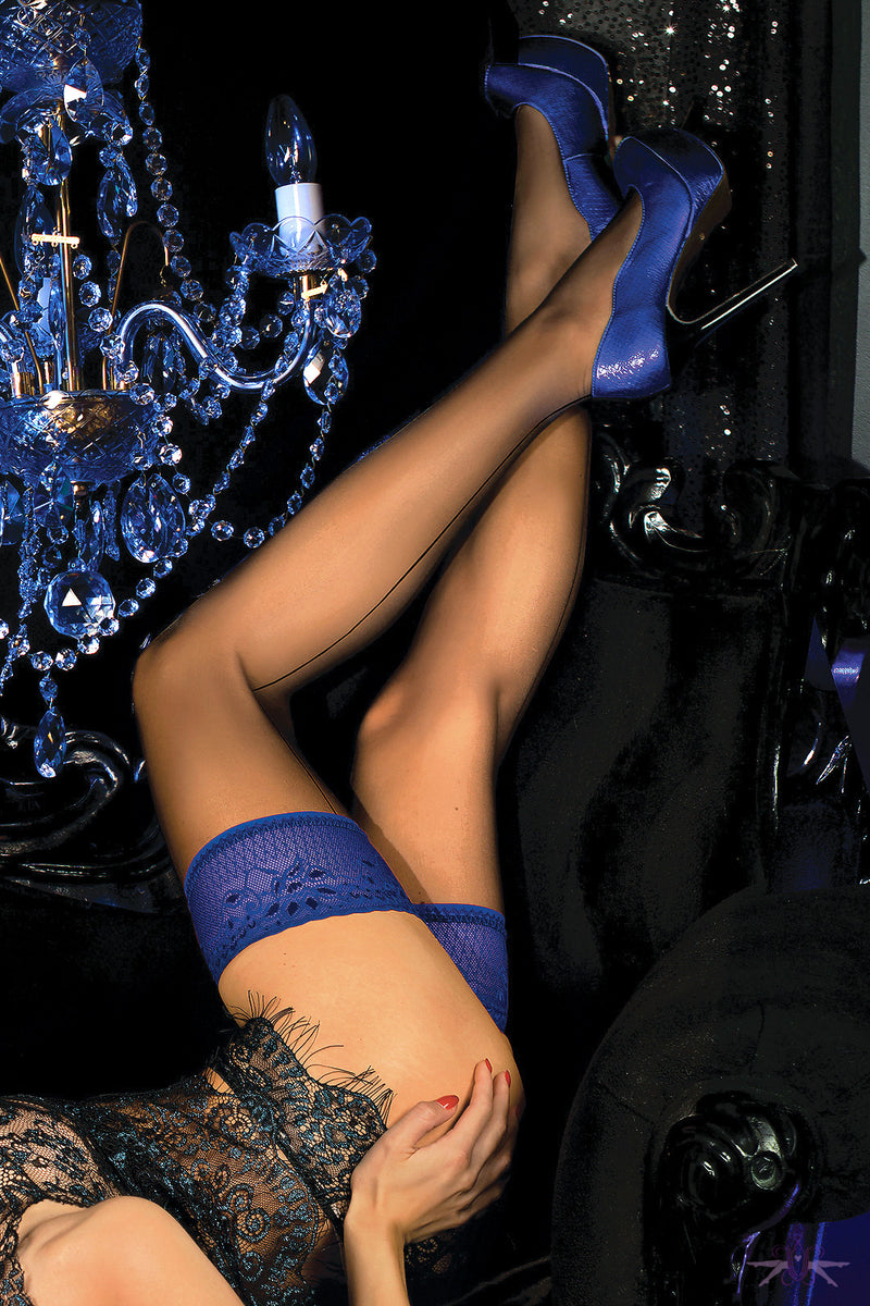 Ballerina Sienna Hold Ups - Mayfair Stockings