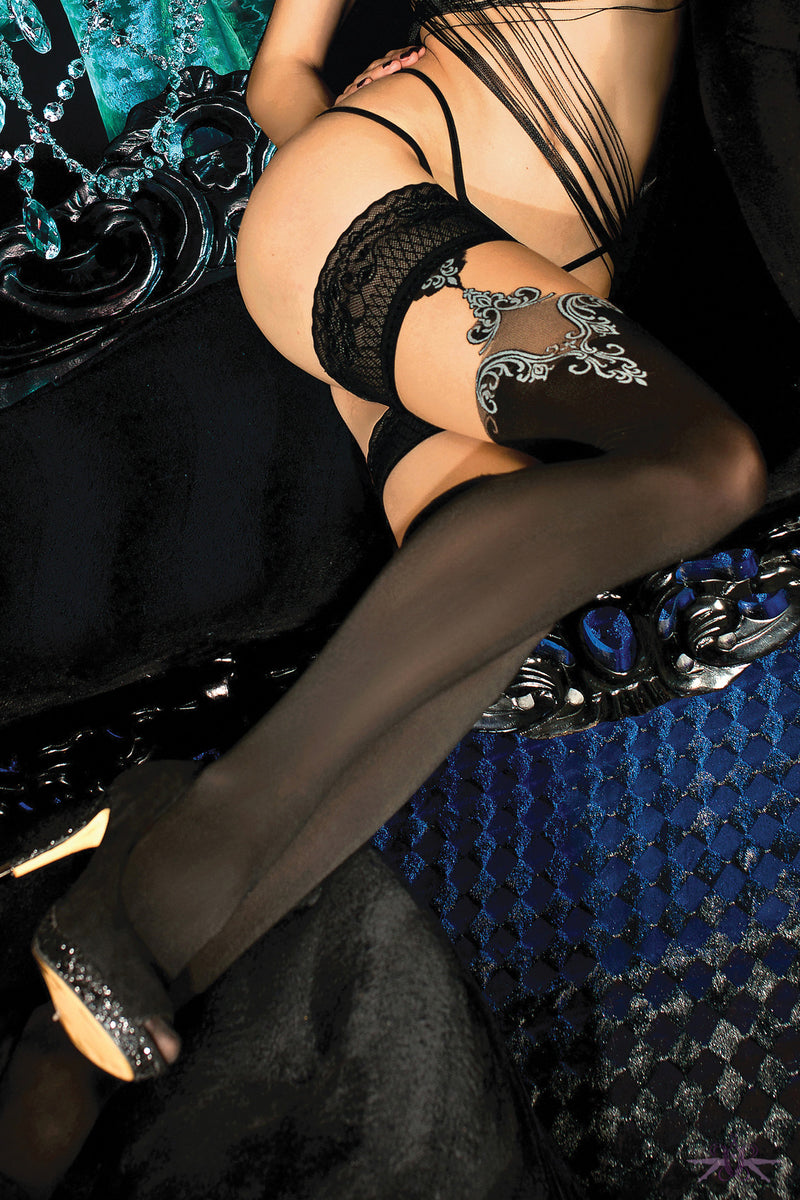 Ballerina Jasmine Hold Up - Mayfair Stockings