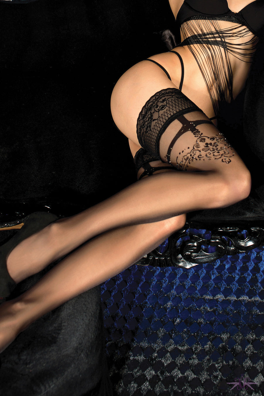 Ballerina Paige Hold Ups - Mayfair Stockings