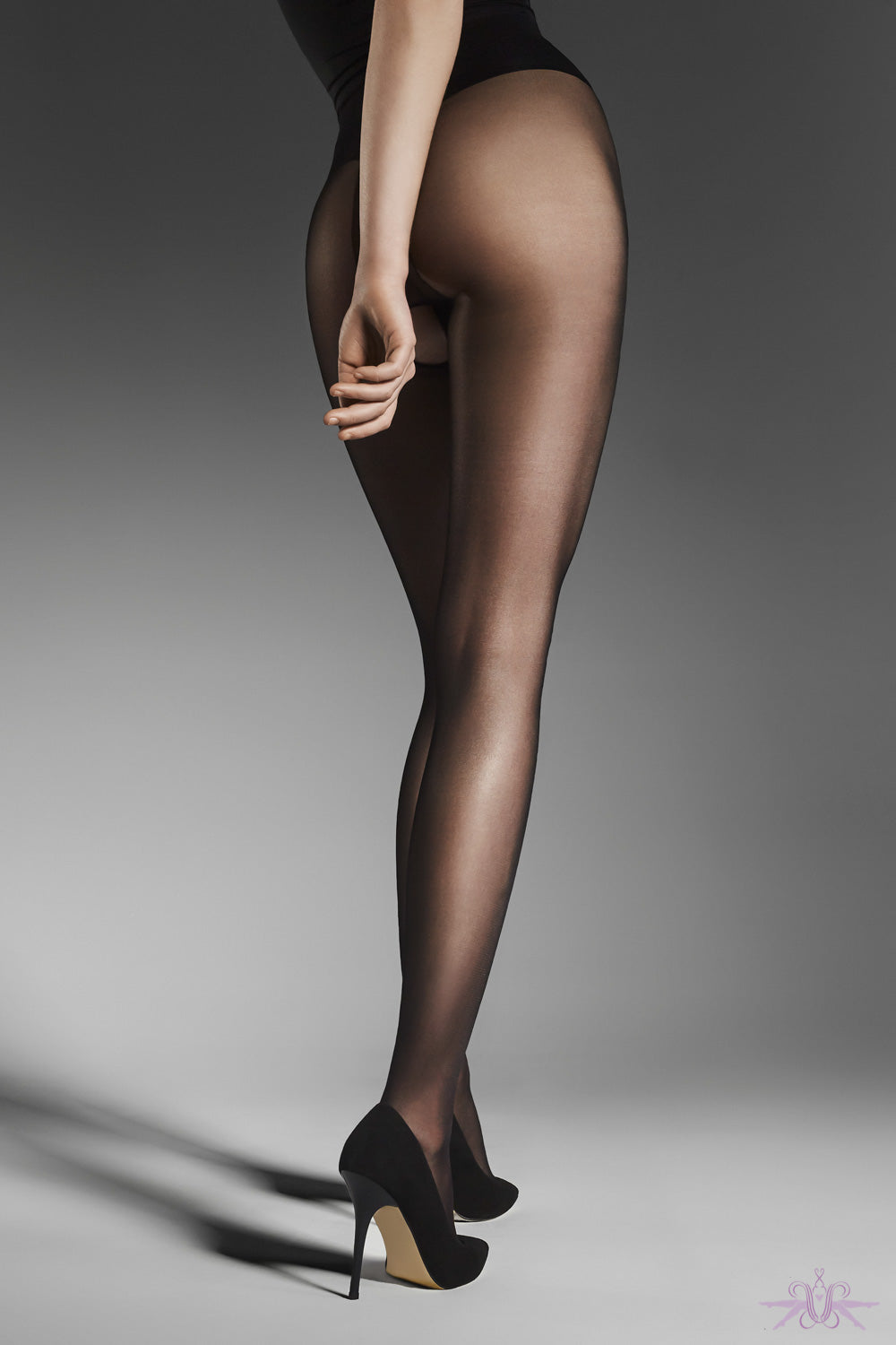 Fiore Ouvert Tight - Mayfair Stockings