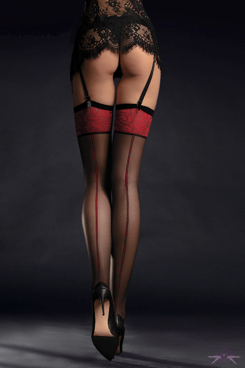 Fiore Sensual Scarlett Stockings - Mayfair Stockings