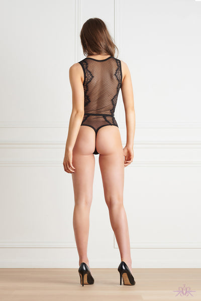 Maison Close Inspiration Divine Thong Body with Suspenders - Mayfair Stockings
