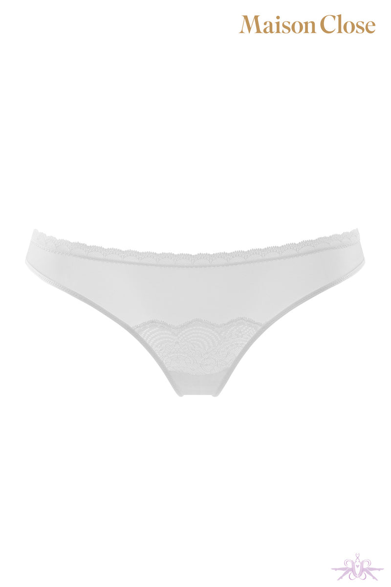 Maison Close La Directrice White Thong
