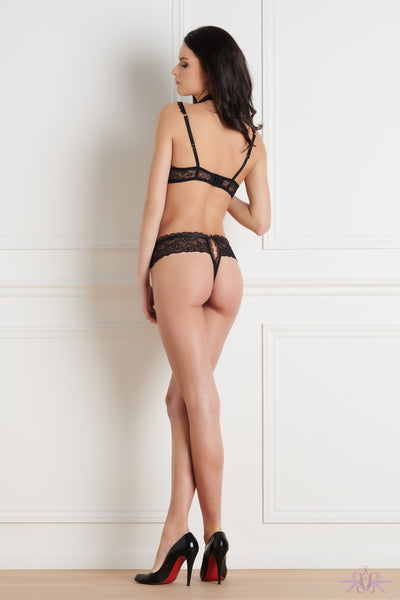 Maison Close Le Petit Secret Dentelle Naked Breast Bra - Mayfair Stockings