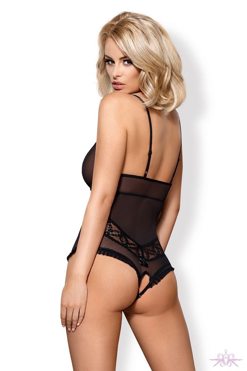 Obsessive Sensual Open Bodysuit - Mayfair Stockings