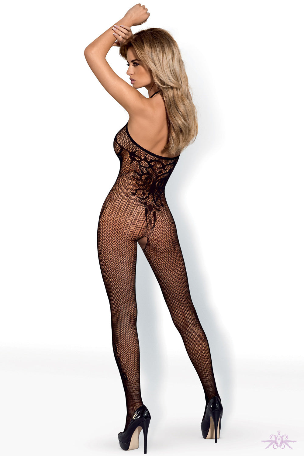 Obsessive Baroque Fishnet Bodystocking - Mayfair Stockings