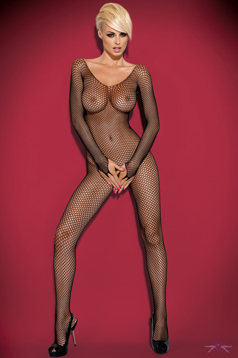 Obsessive Large Net Fishnet Bodystocking