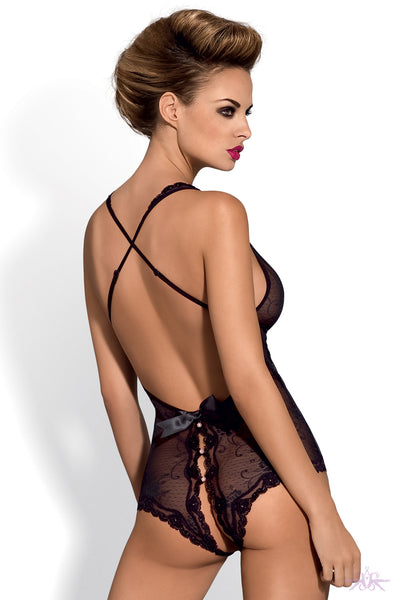 Obsessive Fiorenta Crotchless Bodysuit - Mayfair Stockings
