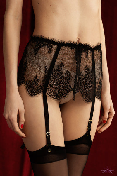 Fiore Vivienne Suspender Belt - Mayfair Stockings