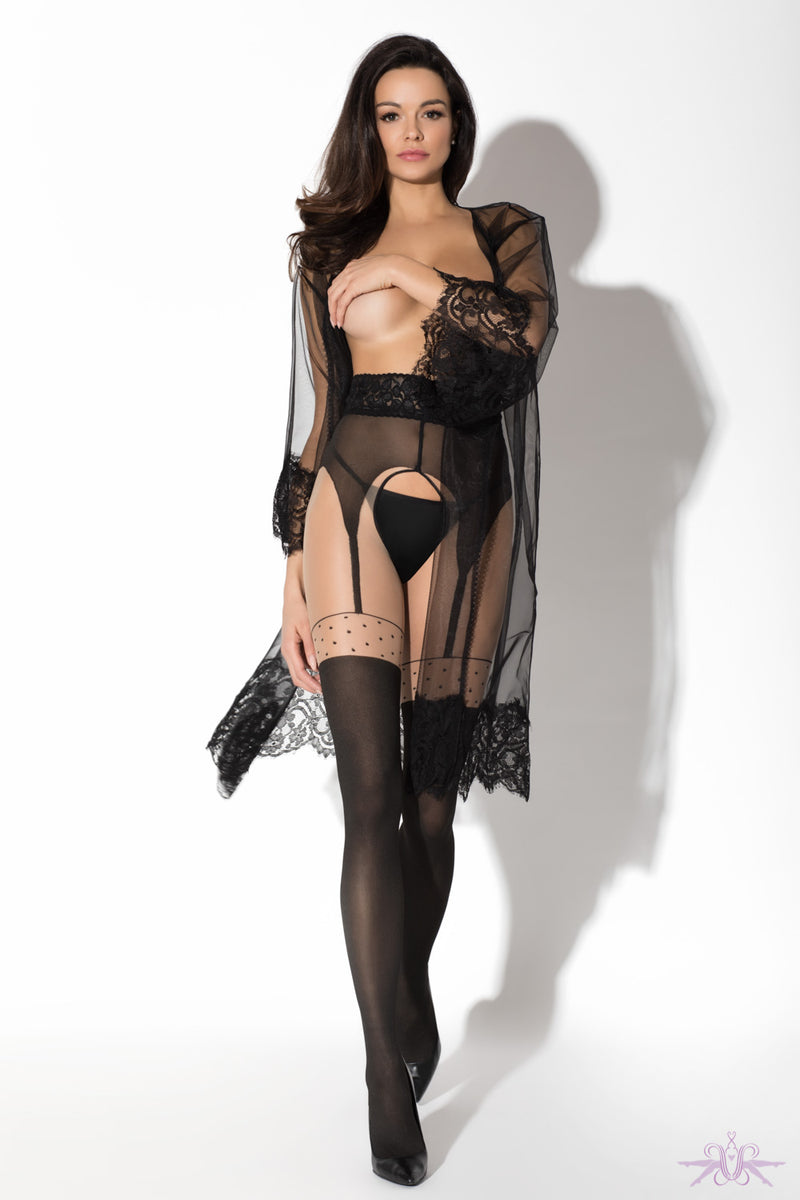 Amour Pin Up Suspender Tights