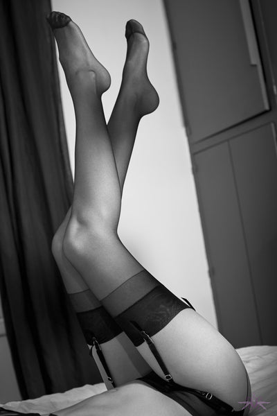 Atelier Amour 10D Sheer Stockings - Mayfair Stockings