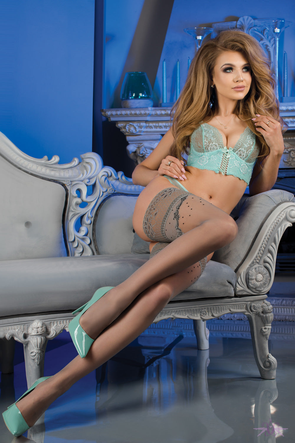 Ballerina Portobello Hold Ups - Mayfair Stockings