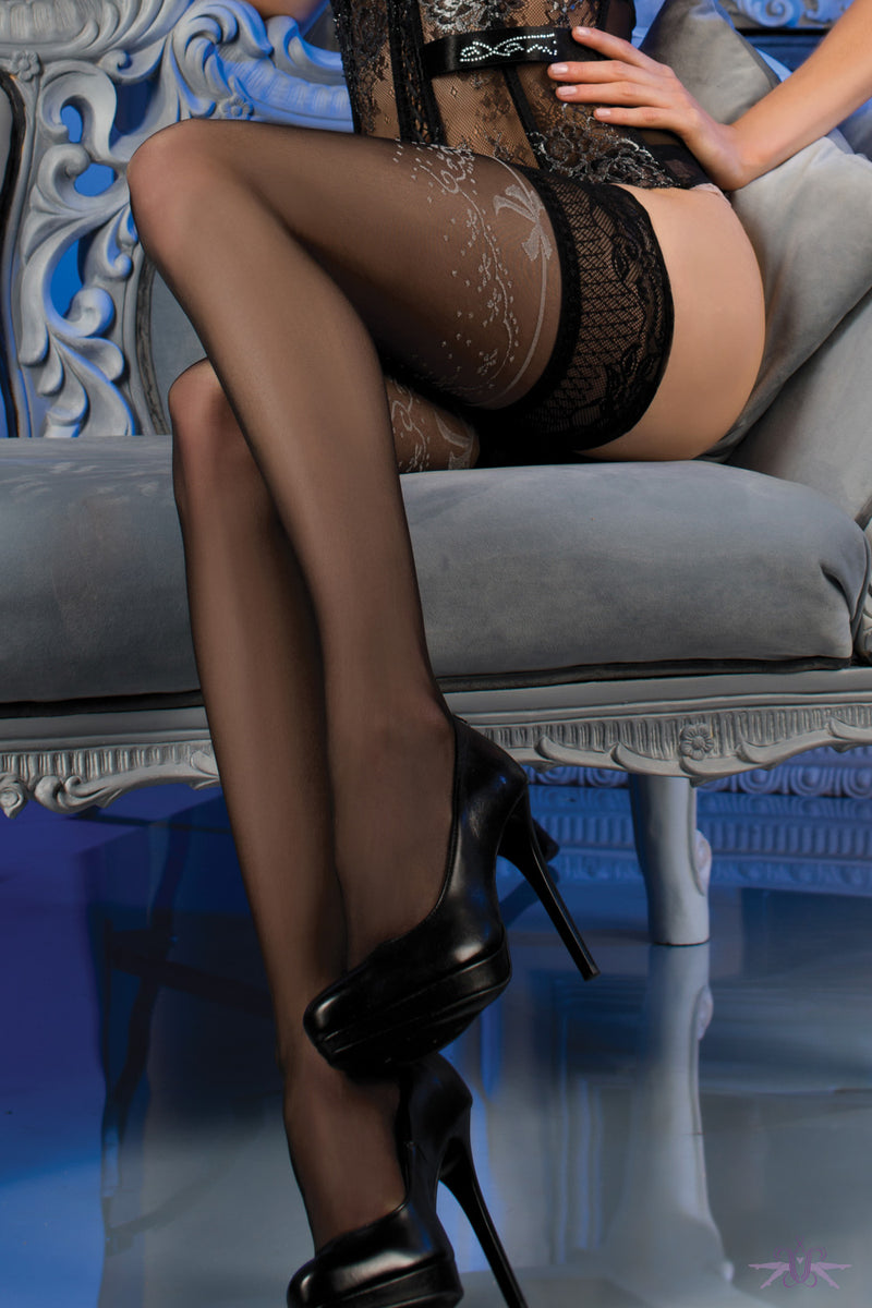 Ballerina Islington Hold Ups - Mayfair Stockings