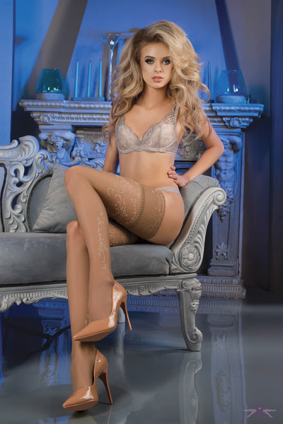 Ballerina Park Lane Hold Ups - Mayfair Stockings