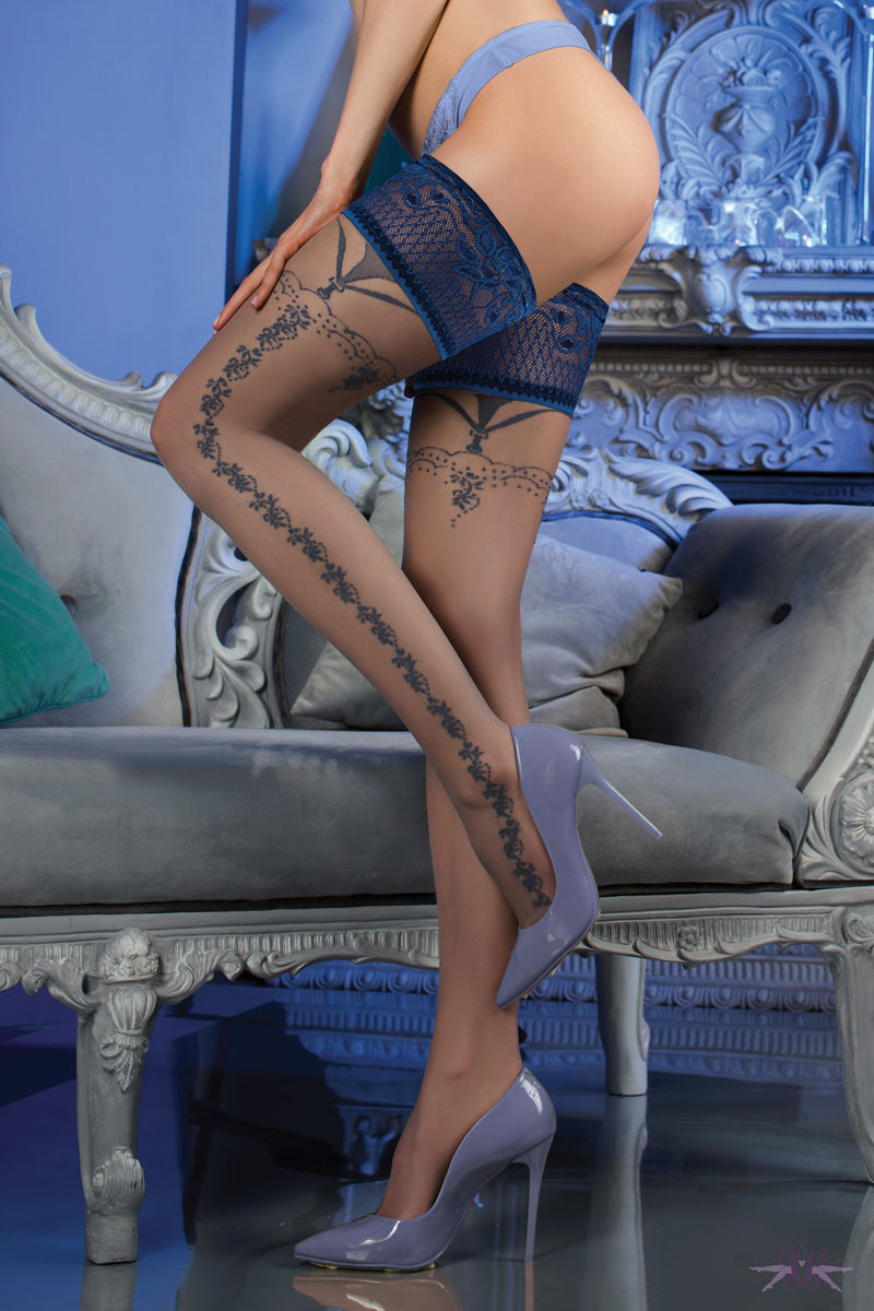 Ballerina Strand Hold Ups - Mayfair Stockings