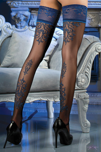 Ballerina Buckingham Hold Ups - Mayfair Stockings