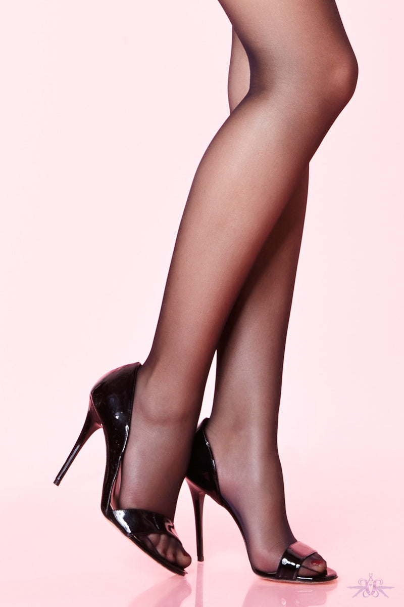 Chantal Thomass 20 Denier Logo Stockings - Mayfair Stockings