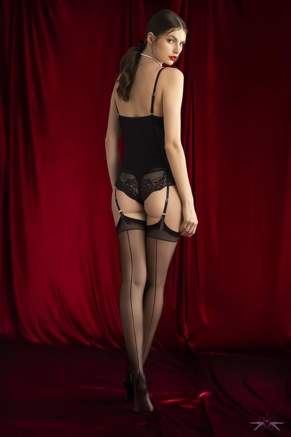 Fiore Sensual Diva Seamed Stockings