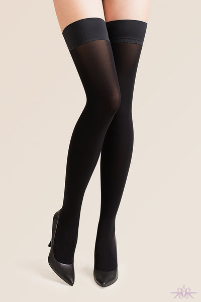 Gabriella Sensual Alva Hold Ups - Mayfair Stockings