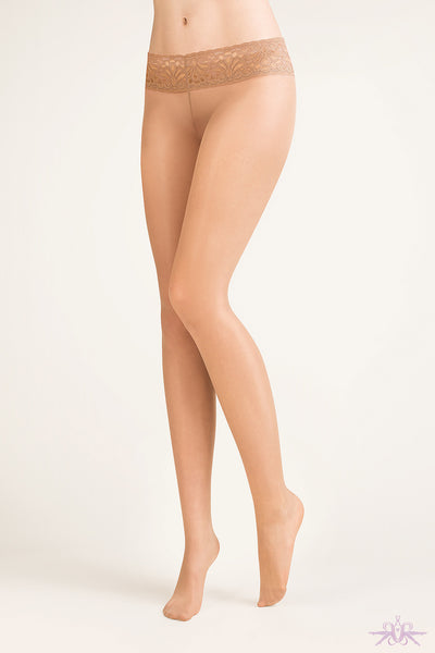 Gabriella Hipster Tights - Mayfair Stockings