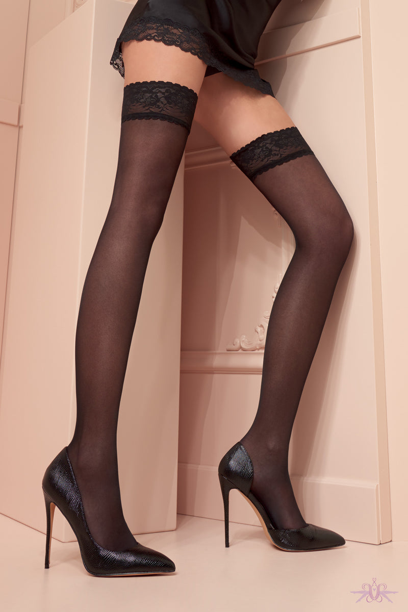 Trasparenze Maddalena Hold Ups - Mayfair Stockings