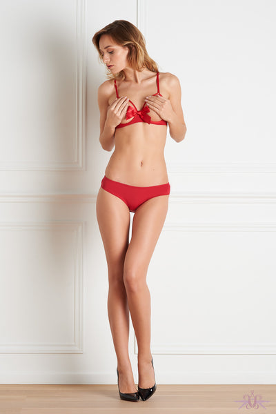 Maison Close Le Petit Secret Red Naked Shorty - Mayfair Stockings