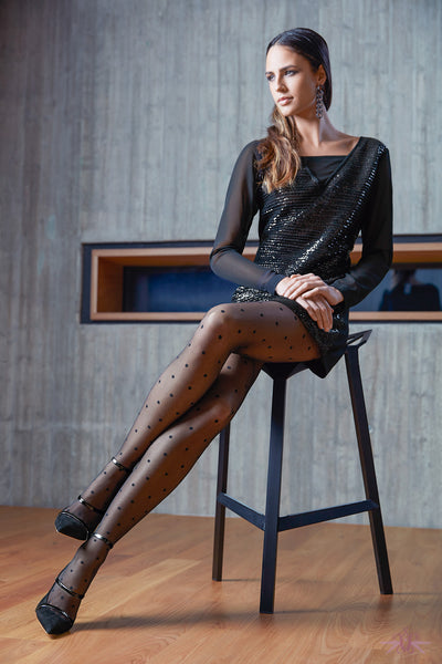 Oroblu Cloe Tights - Mayfair Stockings
