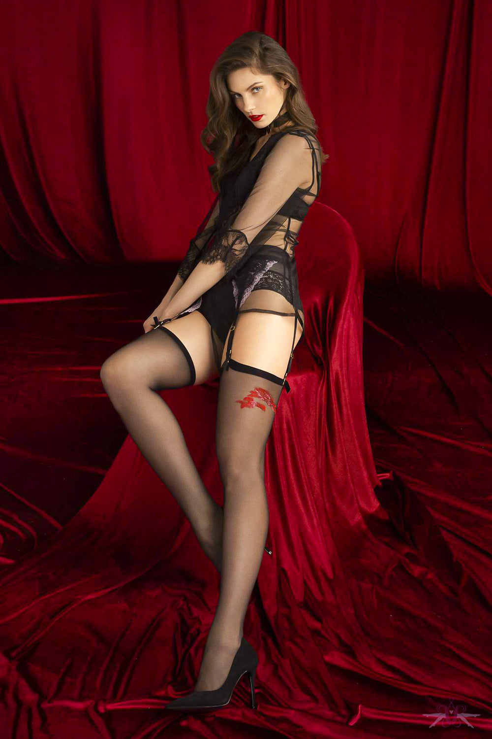 Fiore Sensual Piccante Stockings - Mayfair Stockings