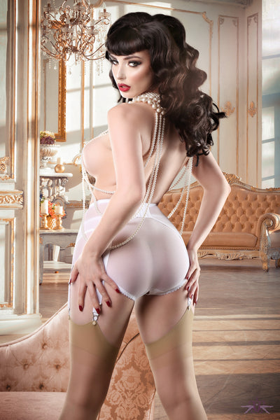 Mayfair Sofia Natural Stockings