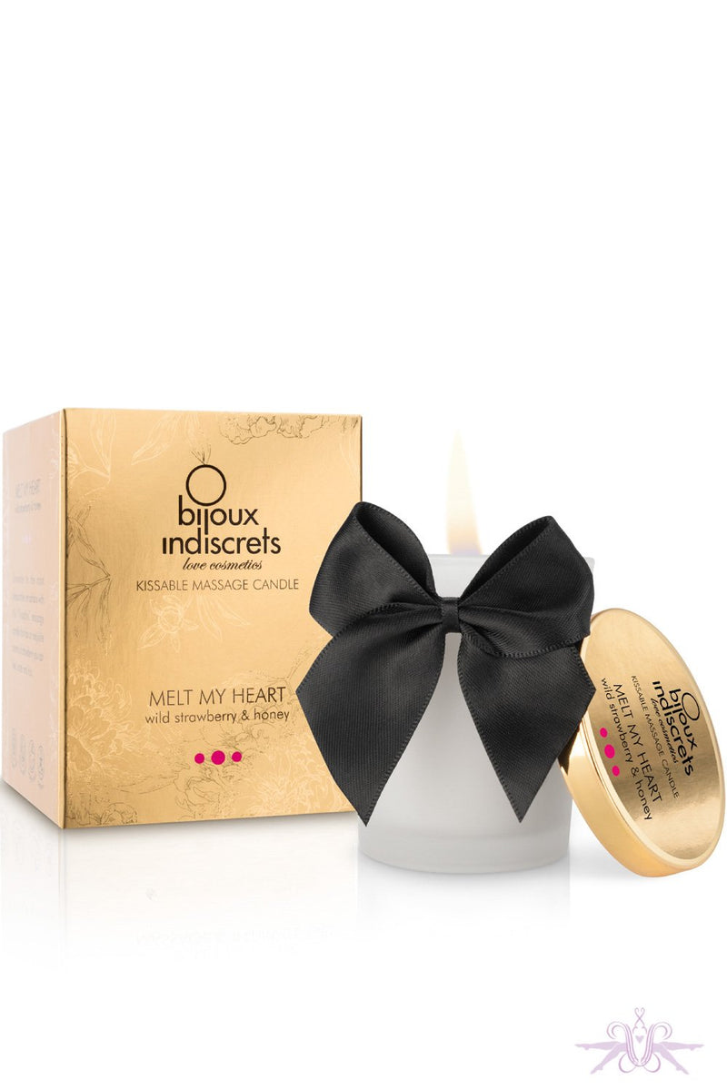 Bijoux Indiscrets Strawberry Scented Massage Candle